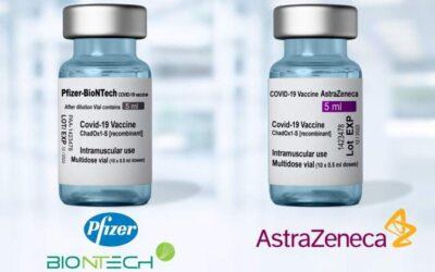 El ISCIII lanza 'CombiVacs', un estudio que evalúe completar la pauta de Vaxzevria con Pfizer.
